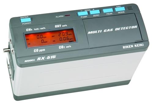日本理研RIKEN RX-516 油轮HC/O2/H2S检测器